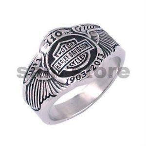 Men Harley Davidson Rings Mens Harley Davidson Ring Size