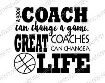 Great Coach svg, basketball coach svg, basketball coach