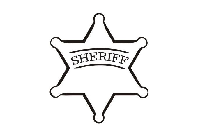 Sheriff Badge Police Badge Coloring Pages Badge