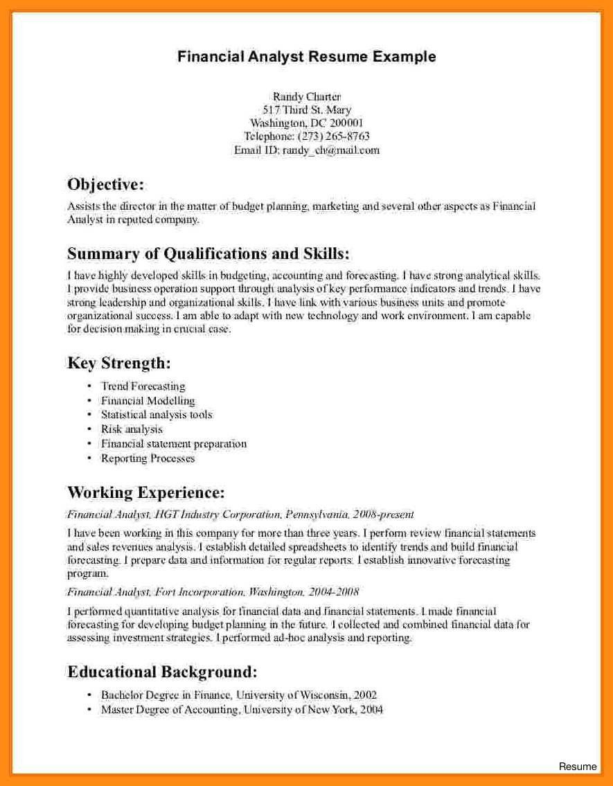 32 lovely supply chain analyst resume in 2020 data