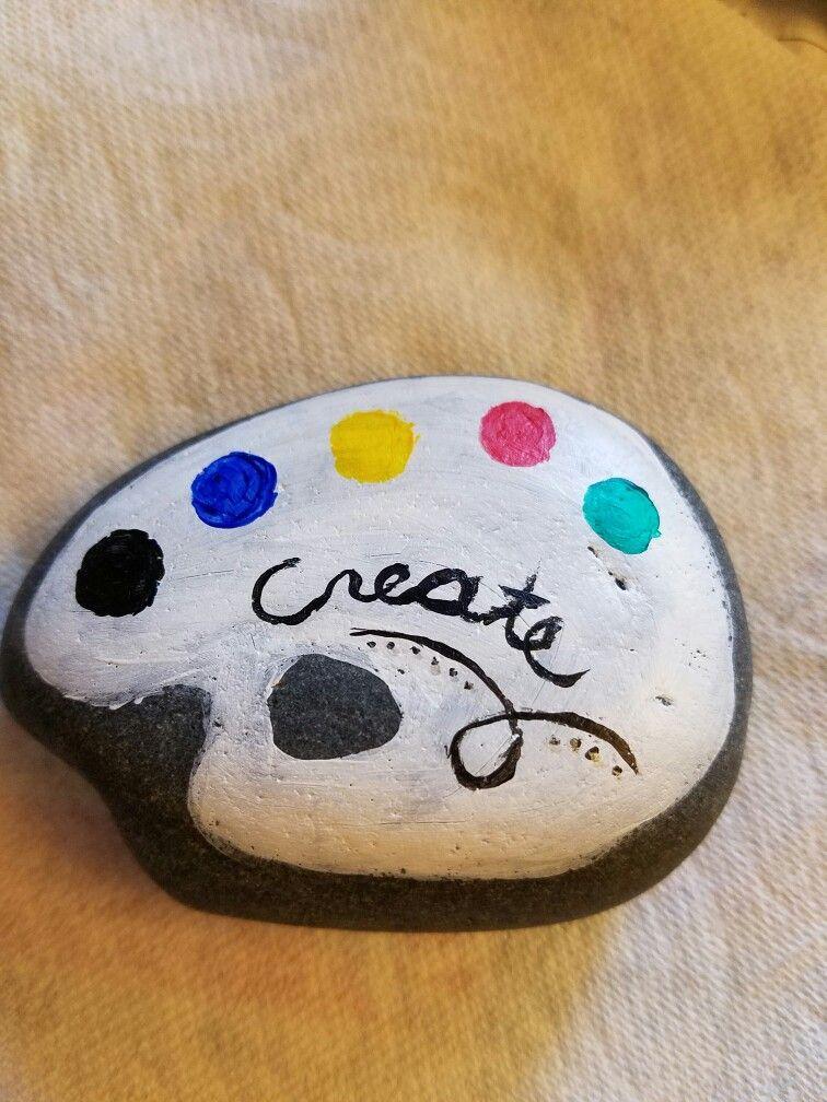 Rock Painting Create Pallet Steine Bemalen Basteln Mit Steinen Felsen Und Steine
