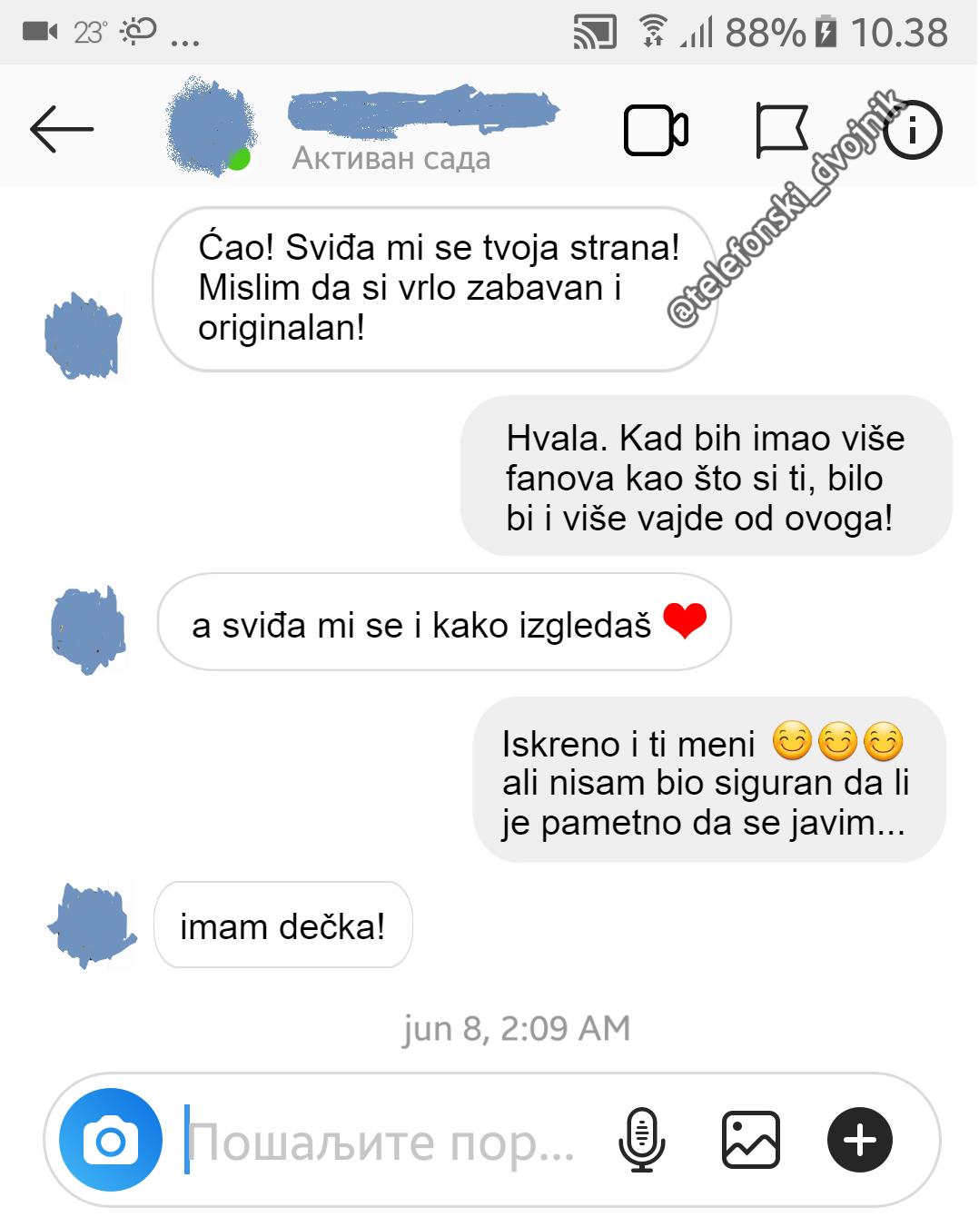 #poruke #devojke #muvanje #humor #telefonski_dvojnik