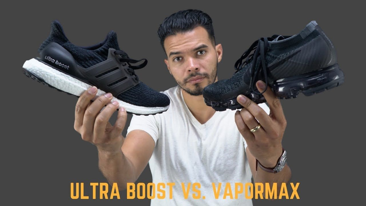 Which Has Better Tech? | Adidas Ultra Boost vs Nike Vapormax