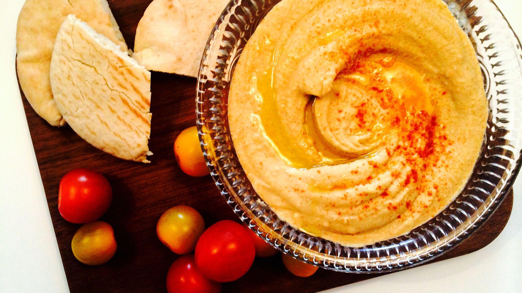 Hummus med chilli
