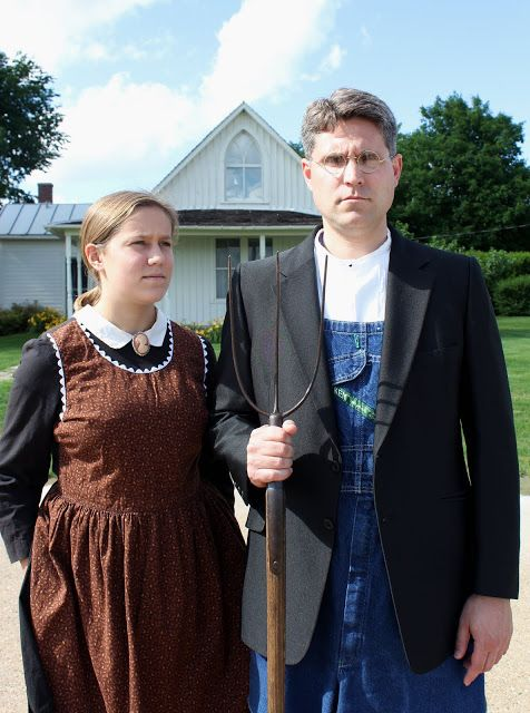 Costume Based On Grant Woods American Gothic