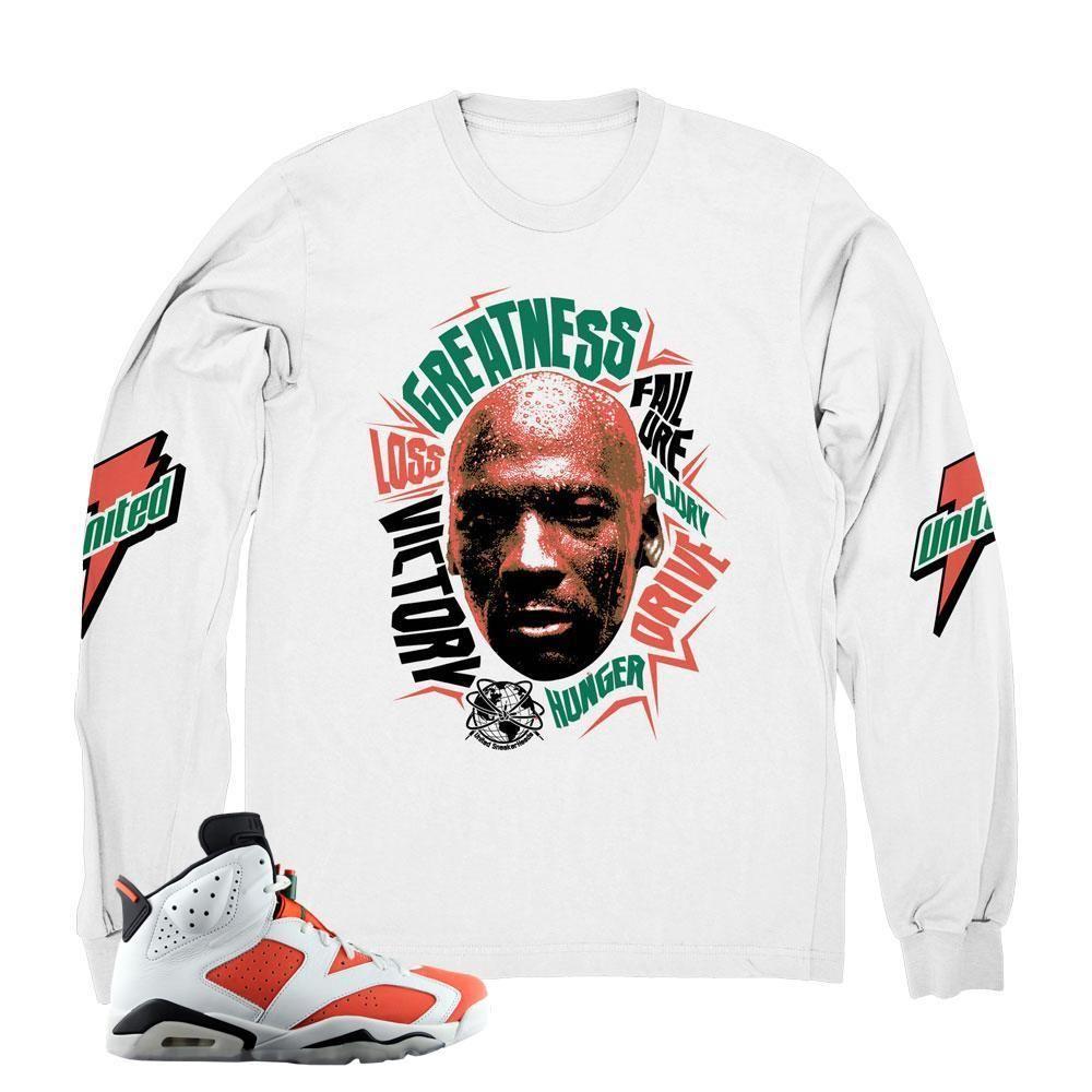 95b8781d02a7 Jordan 6 Gatorade T-Shirt