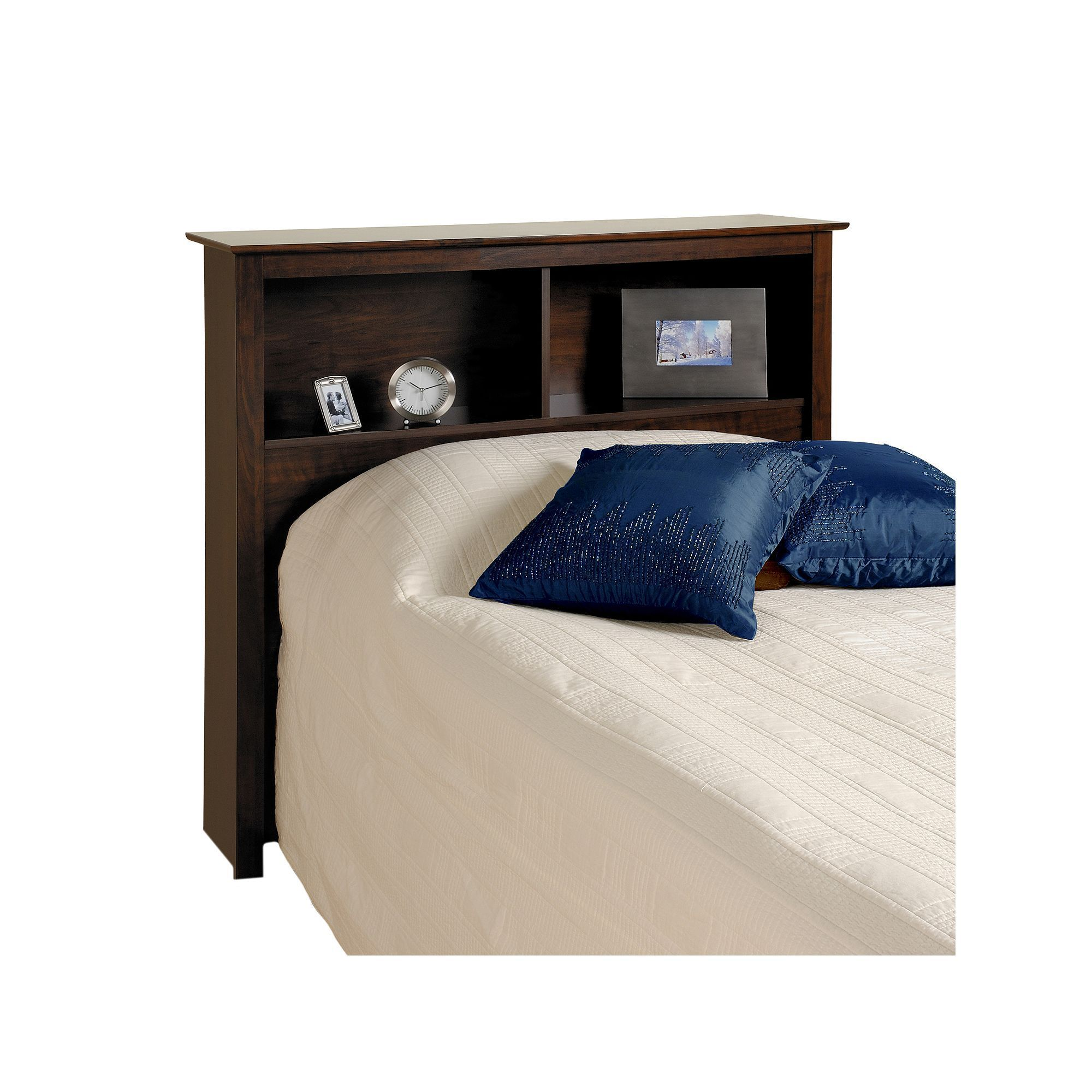 Prepac Twin Bookcase Headboard Brown Bookcase Headboard