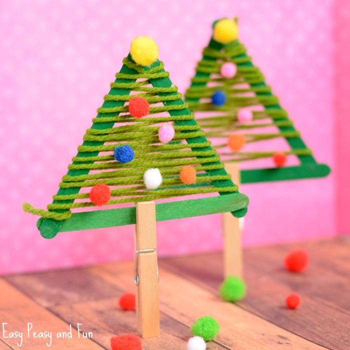 Craft Sticks Christmas Tree Craft Stick Christmas Tree