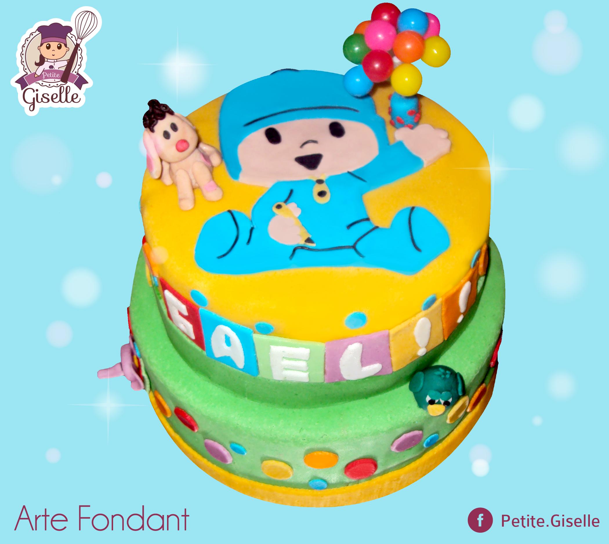 Pastel de Fondant! #cake #fondant #petitegiselle
