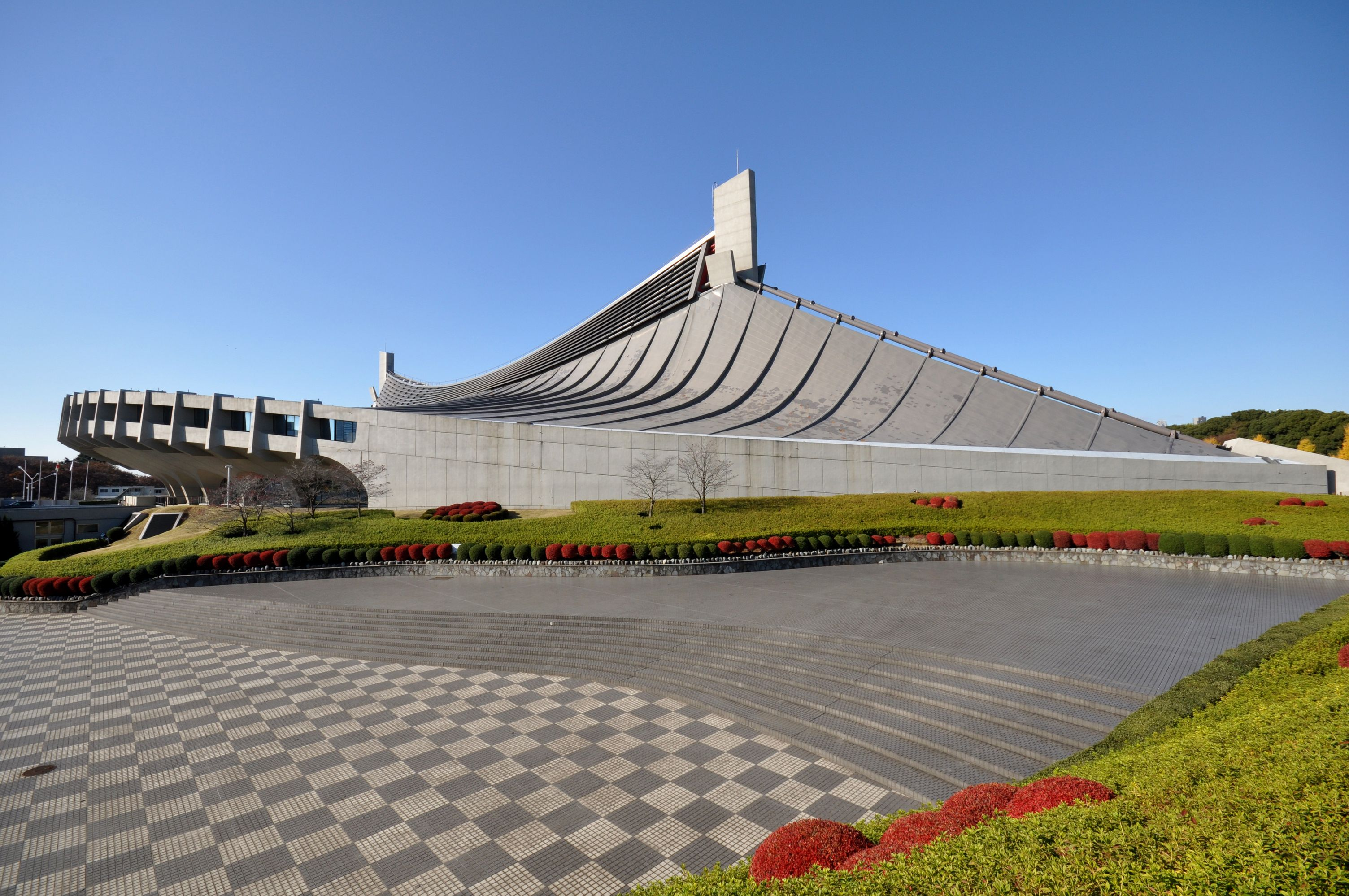 Yoyogi National Gymnasium 国立代々木競技場 Kokuritsu Yoyogi Kyōgi