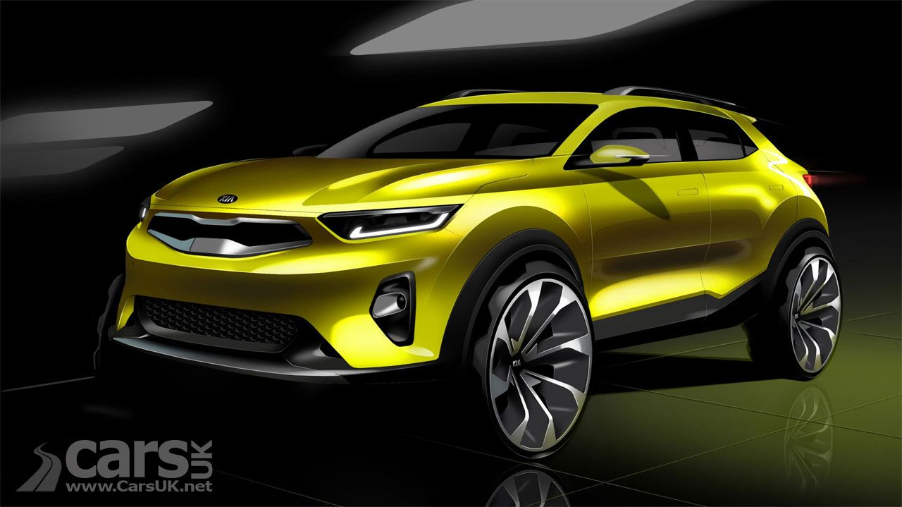 The Kia Stonic Compact Suv Sister Car To The New Hyundai Kona Is