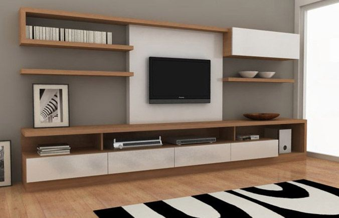 Mueble TV salas Pinterest TVs, Living rooms and Tv walls