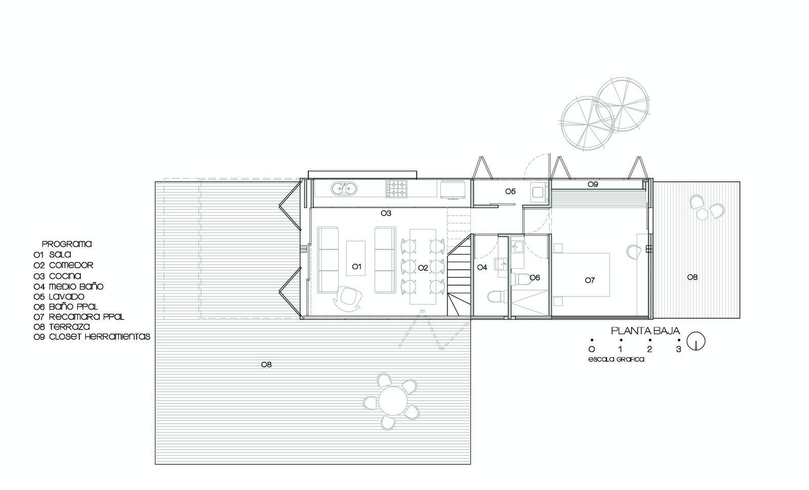Galería de Casa Huiini / S+ diseño - 31