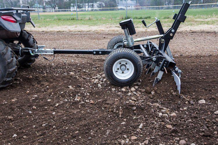 Atv Driveway Graders Gravel Rascal Abi Attachments Atv Sub Compact Tractors Atv Trailers