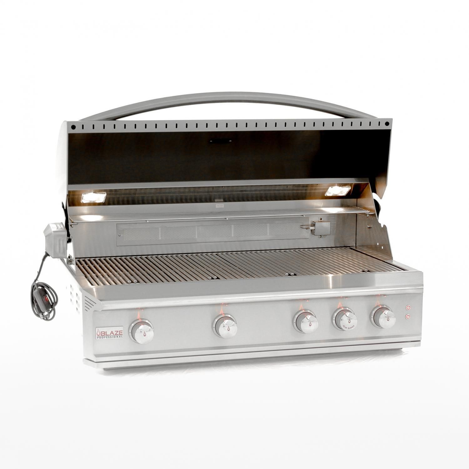 Blaze Outdoor Products Professional 6 Piece 44 Natural Gas Outdoor Kitchen Package Built In Gas Grills Propane Gas Grill Grilling