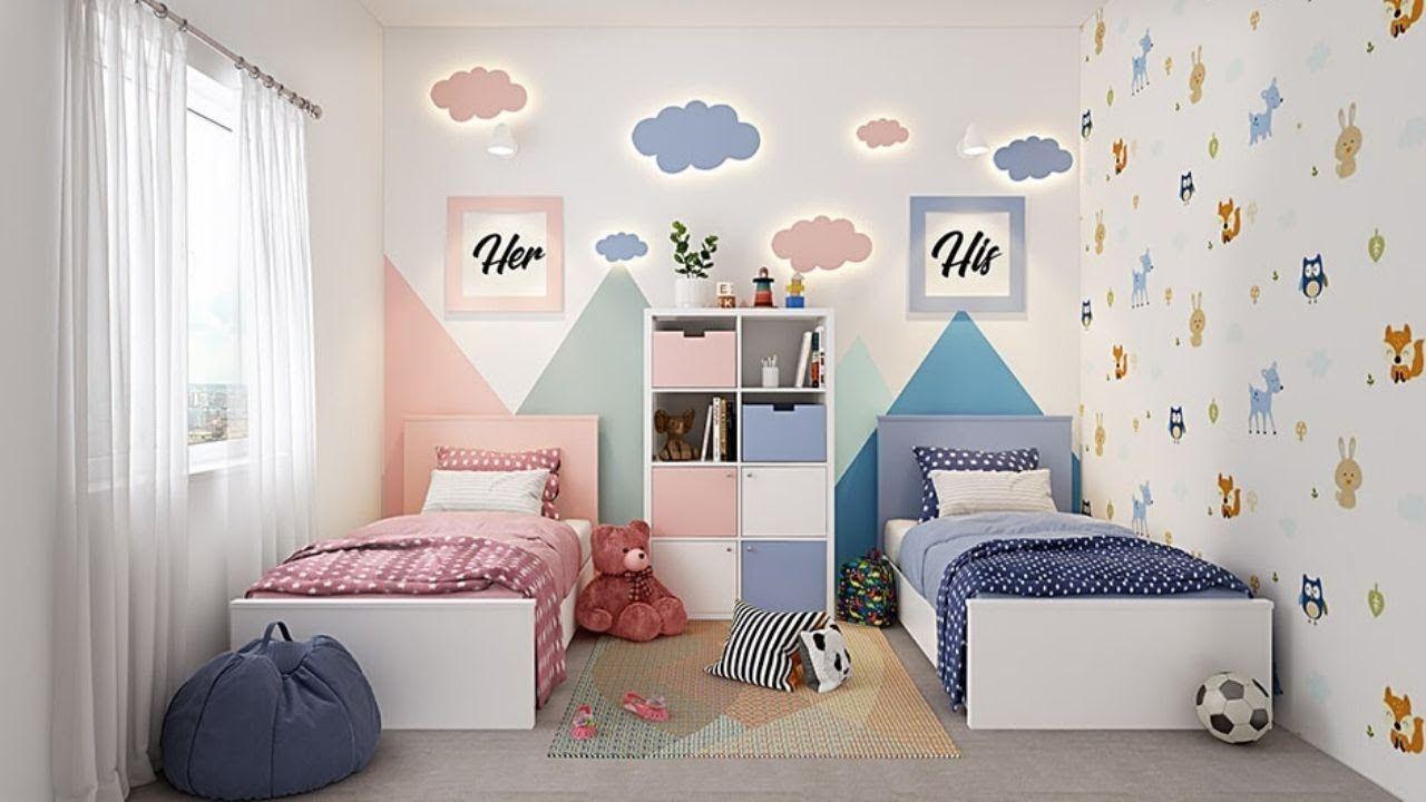 interior kids bedroom design in 2020 | Kids bedroom design ...