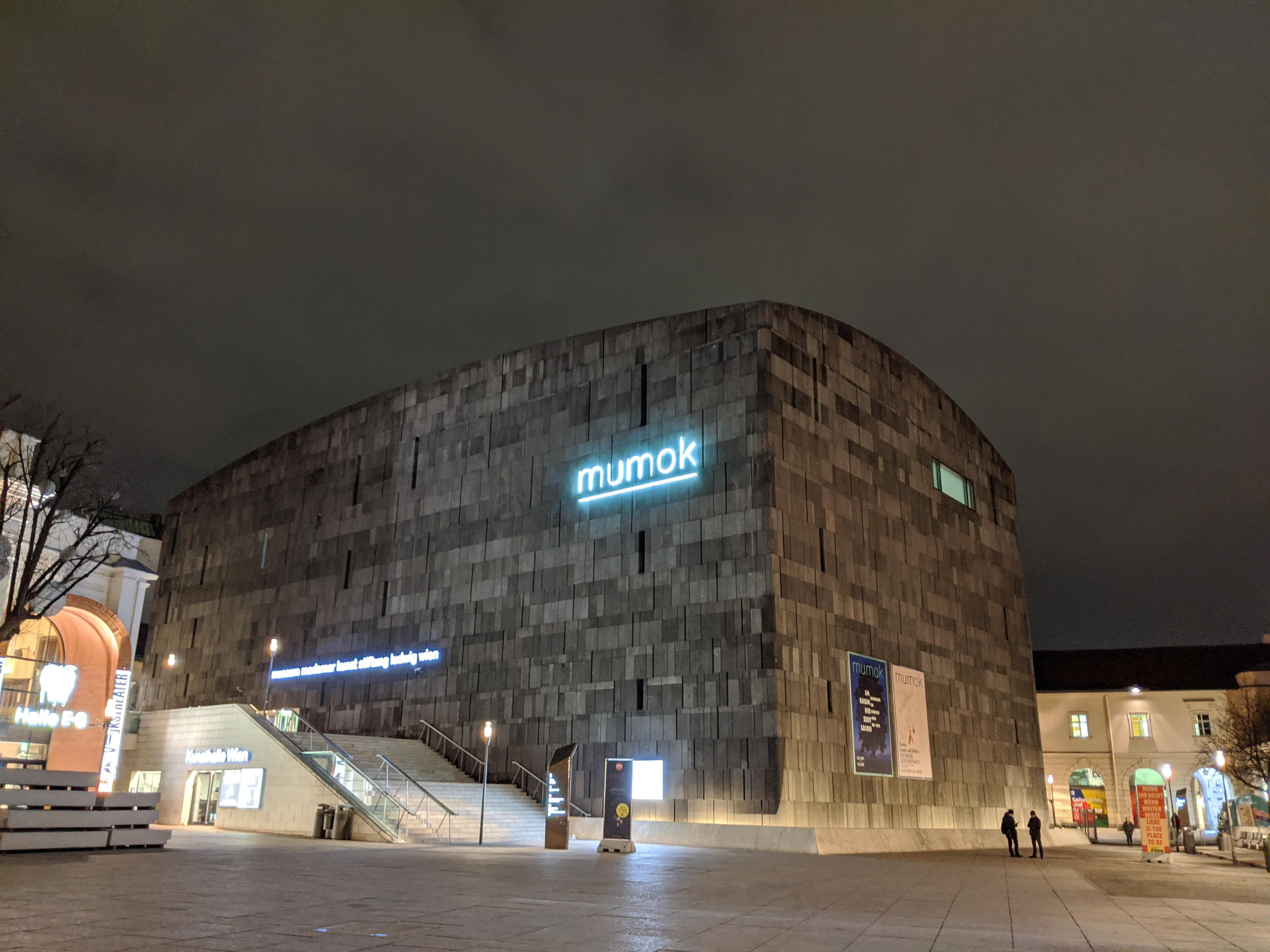 Mumok Modern Art Museum In Vienna Austria In 2020 Museum Of Modern Art Scary Places Historic Buildings