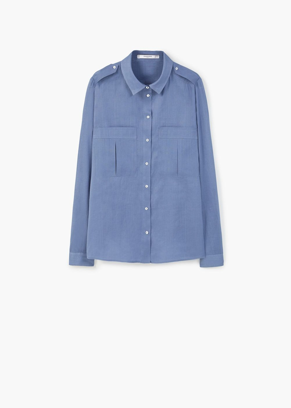 Camicia cotone tasche