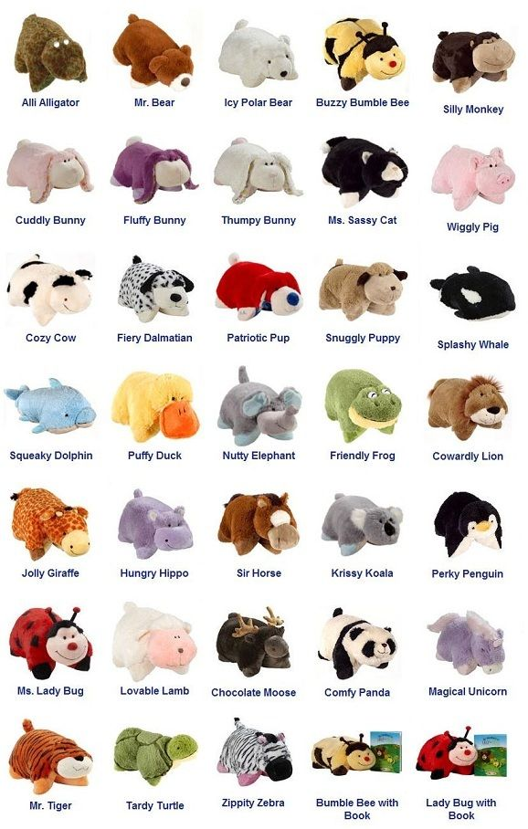 I Want Them All Animal Pillows Pet Tiger Kids Pillows