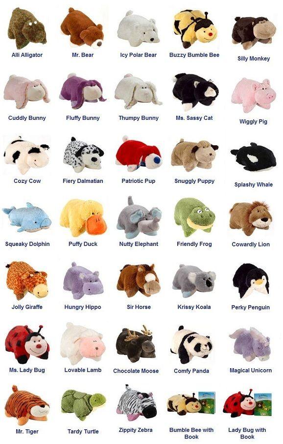 cute pillow pets cheaper than retail