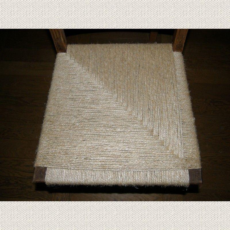 chaise henri ii rempaill e en corde sisal cannage chaises et tressage de panier. Black Bedroom Furniture Sets. Home Design Ideas