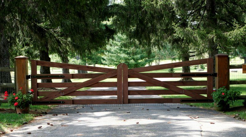 Gate design installation driveway gates entry