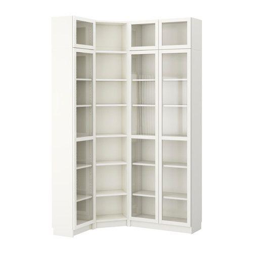 billy combinazione di librerie angolare bianco ikea ikea ideen. Black Bedroom Furniture Sets. Home Design Ideas