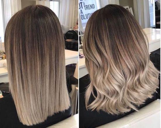 Photo of How to make a brown hair balayage, #brown hair balayage #a #hairlookhairstylesmedium #m …