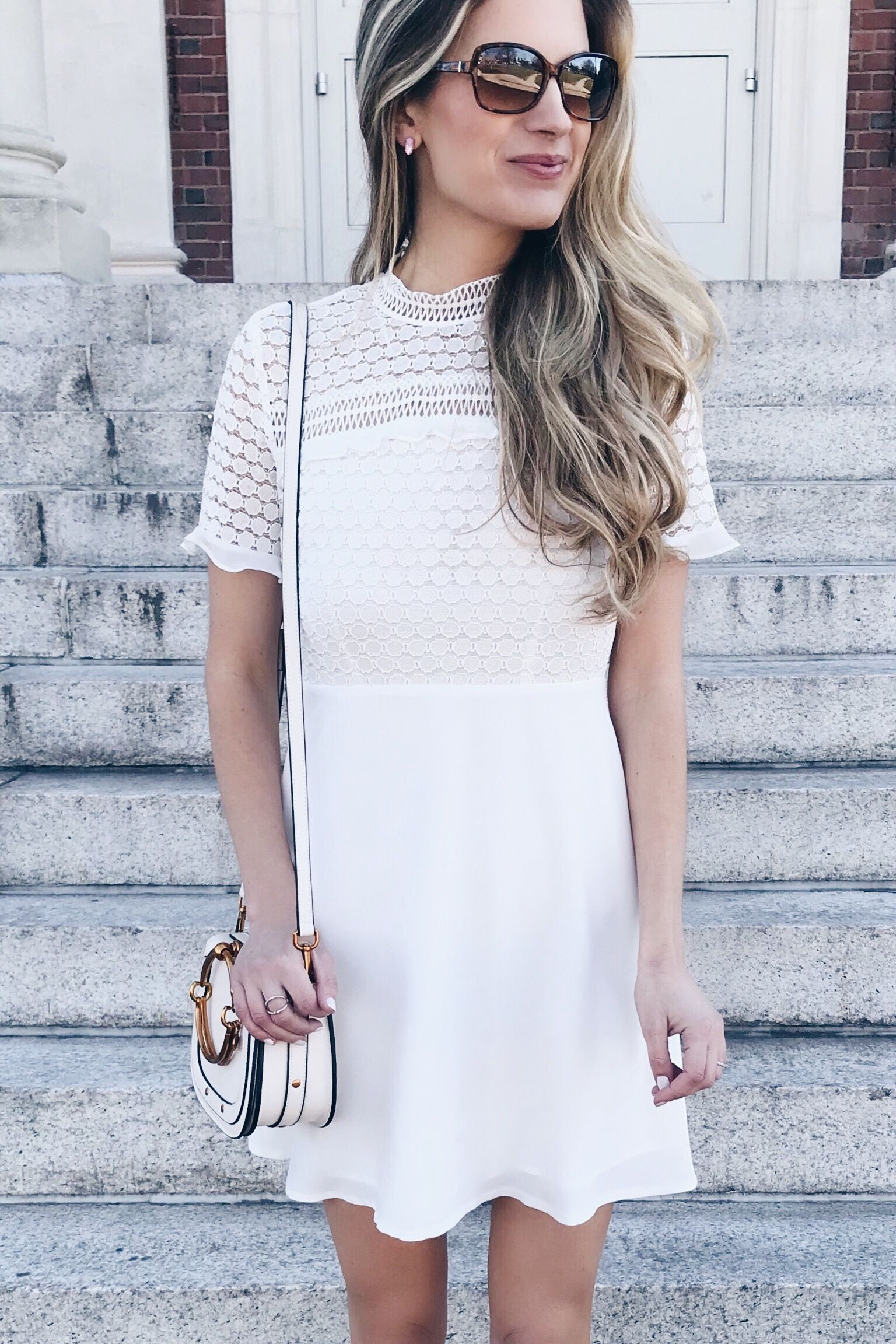 Short White Bridal Shower Dress