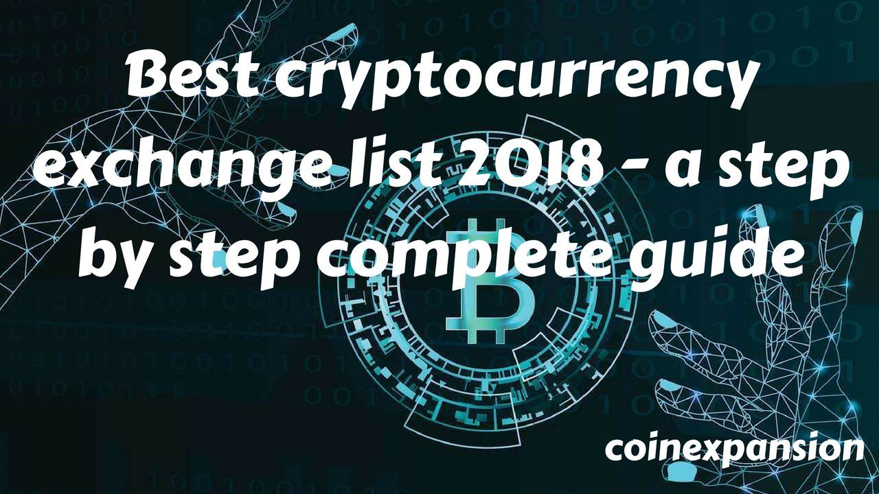 Best cryptocurrency exchange sitestop exchanges for