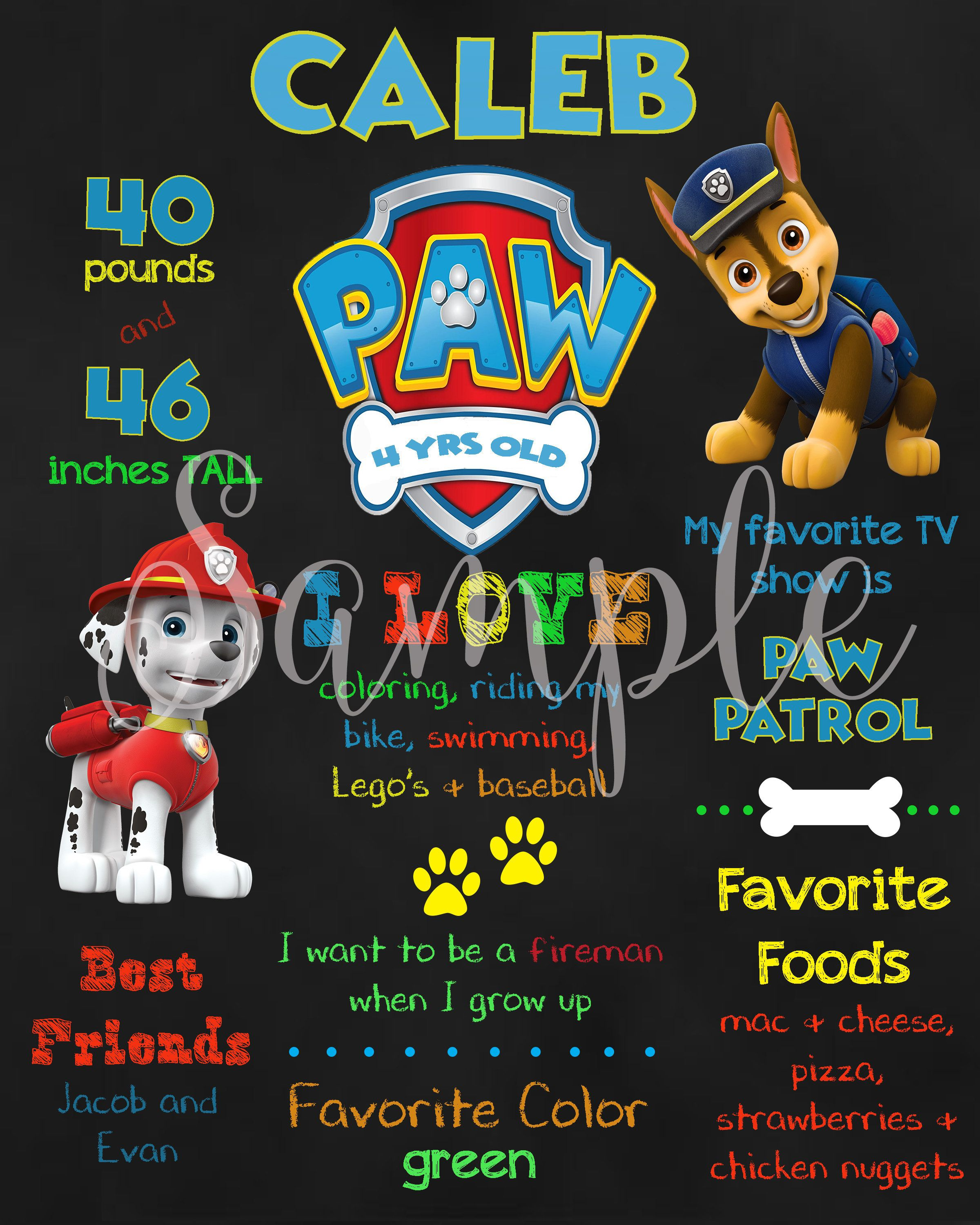 25 Paw Patrol Halloween Stickers Party Favors Teacher Supply Skye chase Marshall
