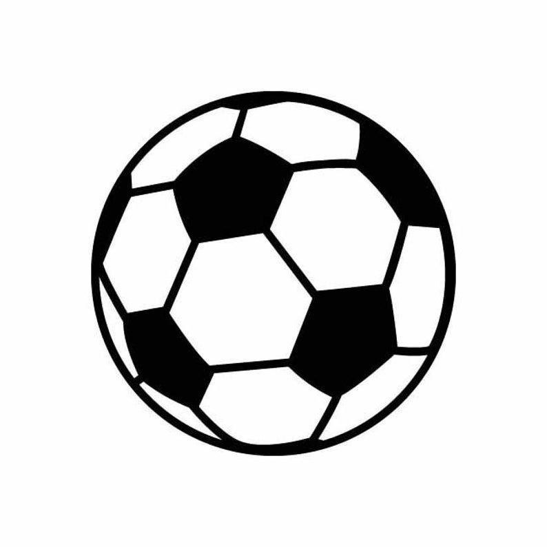 Soccer Ball Soccerball Futbol Instant Download 1 Vector Eps Etsy In 2020 Soccer Ball Soccer Ball