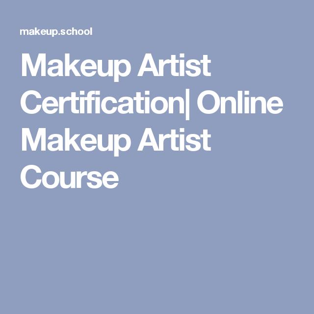 Makeup Artist Certification Online Makeup Artist Course Makeup Artist Course Online Makeup Makeup Artist