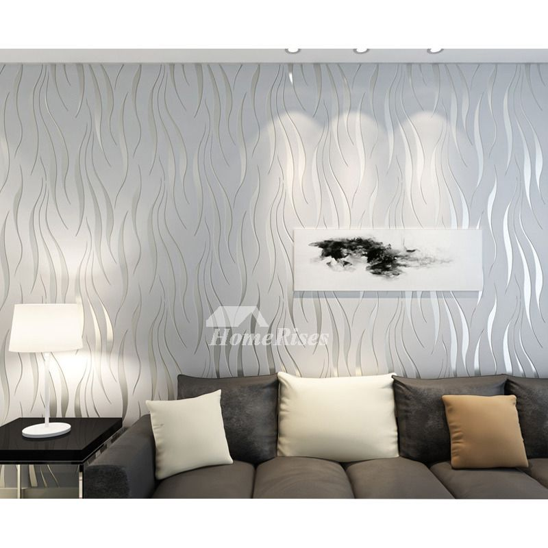 3d Wallpaper Textured Modern Art Decor Abstract Room Silver White Modern Art Decor 3d Wallpaper Texture 3d Wallpaper