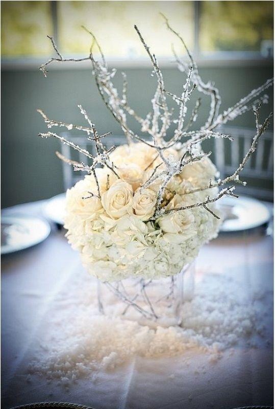 75 charming winter centerpieces digsdigs wedding pinterest rh pinterest co uk