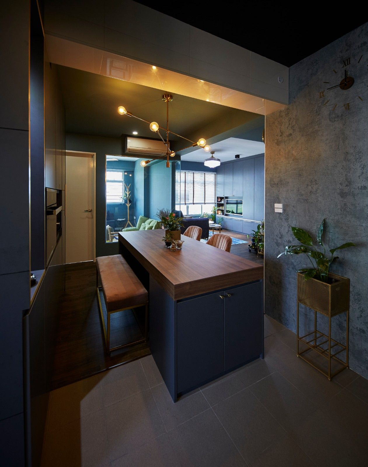Hdb Bto Anchorvale Rustic Eclectic Theme 4 Room Bto Carpenters