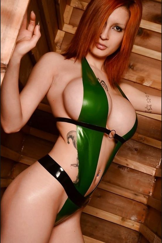 tit perfect redhead Sexy with