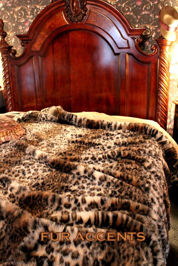 King Size Faux Fur Throws