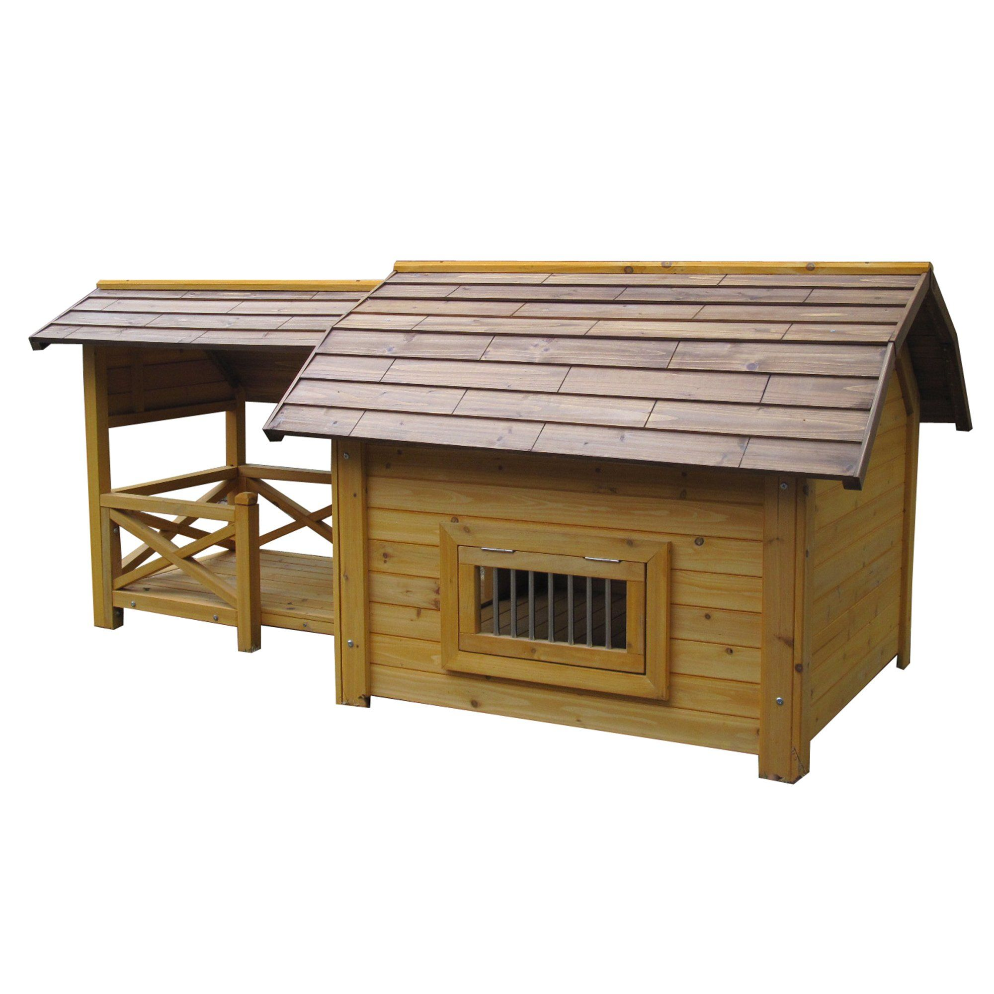 Houses Paws Wooded Lux Pet House Large Dog Houses Pets