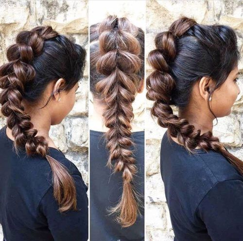 These Indian Braid Hairstyles Will Give You Great Ideas For