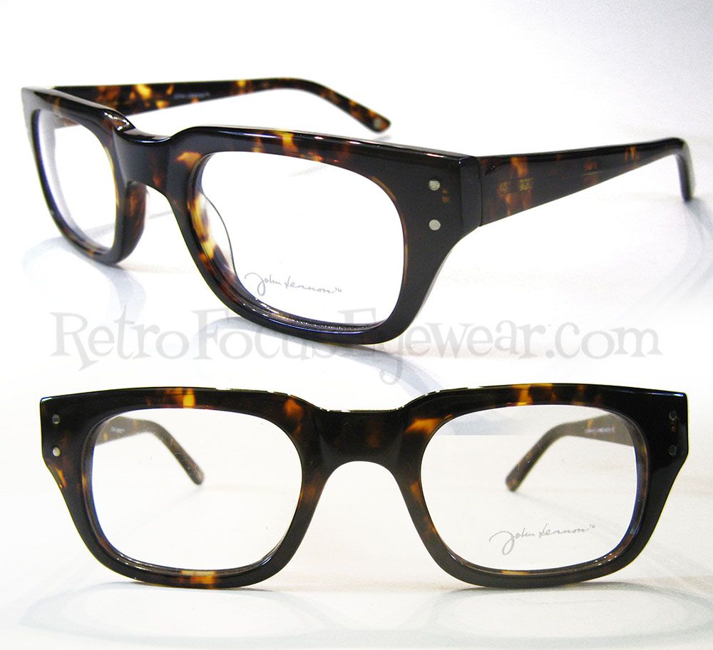 Optical Frames - John Lennon Retro 1   Retro Focus Eyewear. Hornrim ...