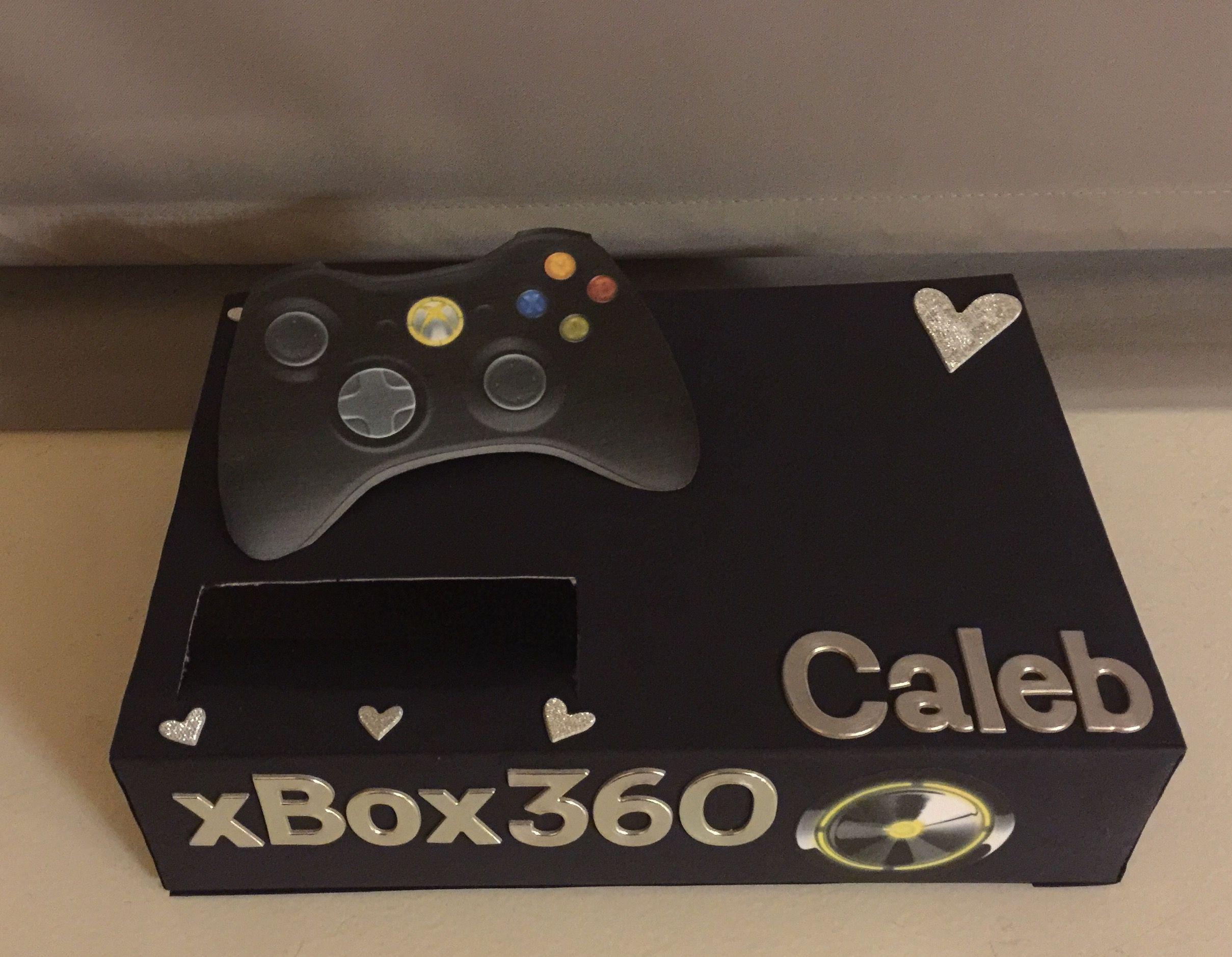 My Version Of The Xbox Valentine S Day Box Valentine Day Boxes Valentines Diy Lego Valentines