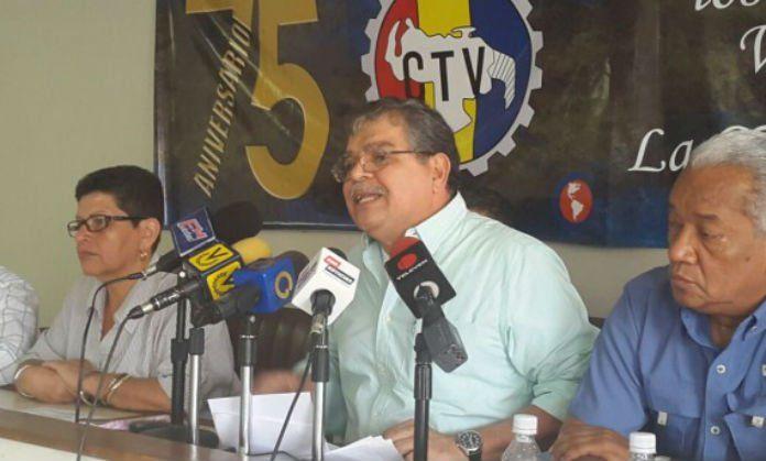 """CTV: Gobierno venezolano está """"raspado"""" en materia salarial - http://www.notiexpresscolor.com/2016/11/10/ctv-gobierno-venezolano-esta-raspado-en-materia-salarial/"""