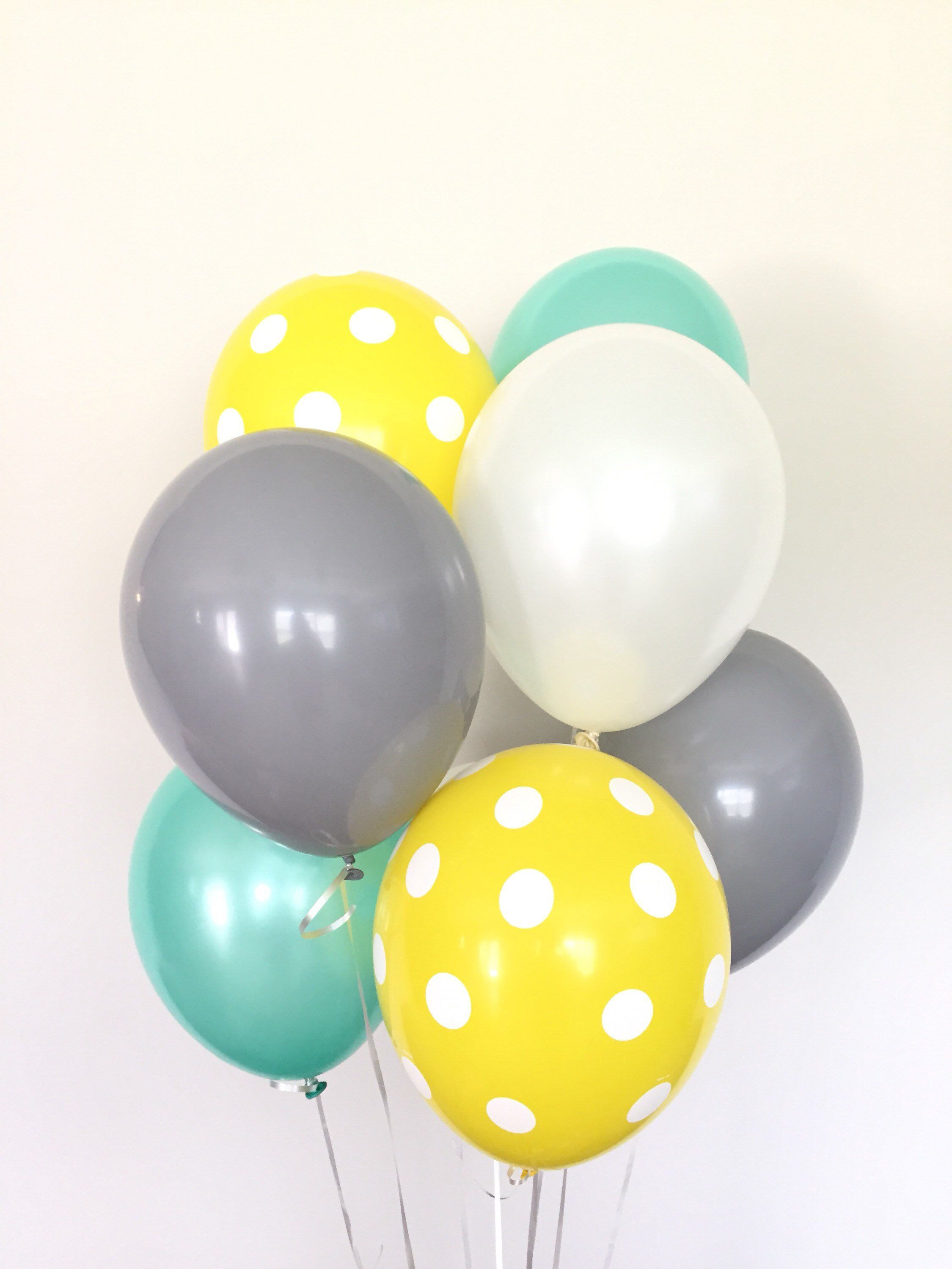 Mint And Yellow Balloons Bumble Bee Baby Shower Mommy To Bee