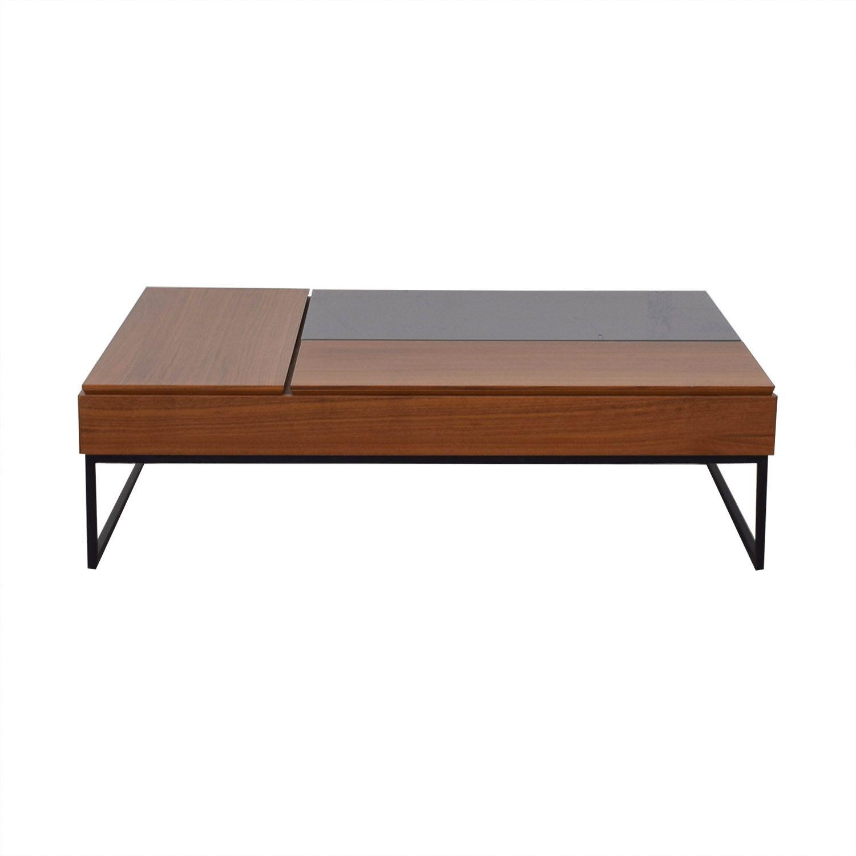 54 Off Boconcept Boconcept Chiva Functional Coffee Table With Storage Tables Coffee Table Coffee Table With Storage Table [ 1500 x 1500 Pixel ]