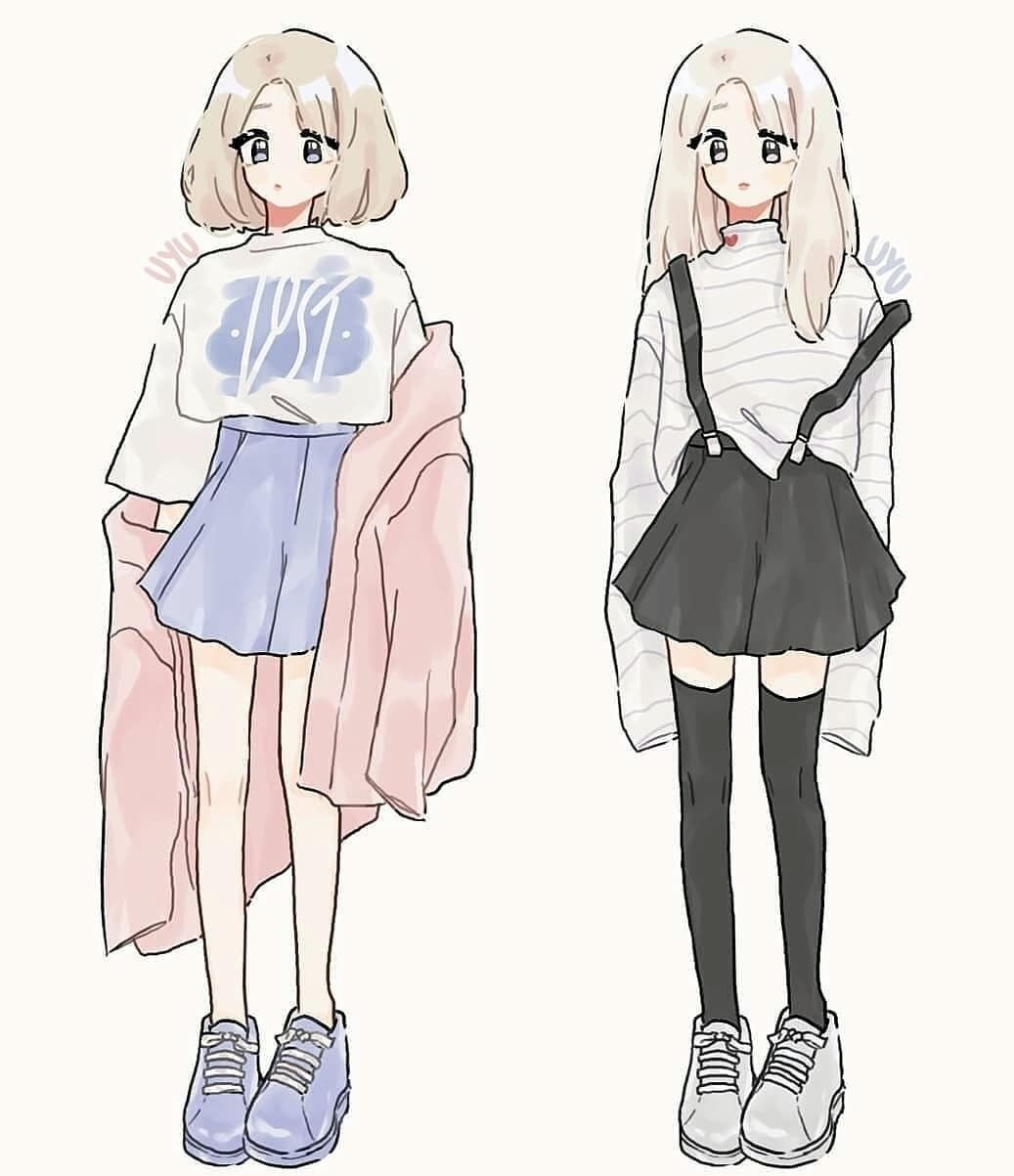 Pin By Sky Sky On Art Drawing Anime Clothes Cute Art Styles Art Clothes