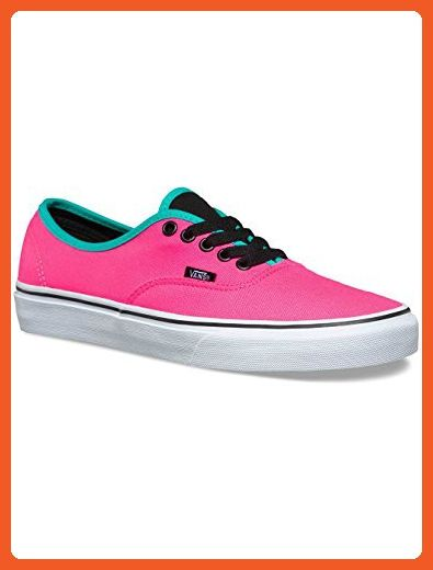 7b34999a7f Vans Authentic Mens Pink Synthetic Lace Up Lace Up Sneakers Shoes 11.5 -  Sneakers for women ( Amazon Partner-Link)