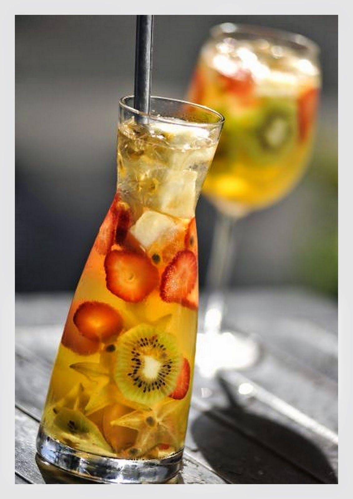 Ateliê Lu dotto design:   CLERICOT Bebidarefrescante servida em jarras de ...