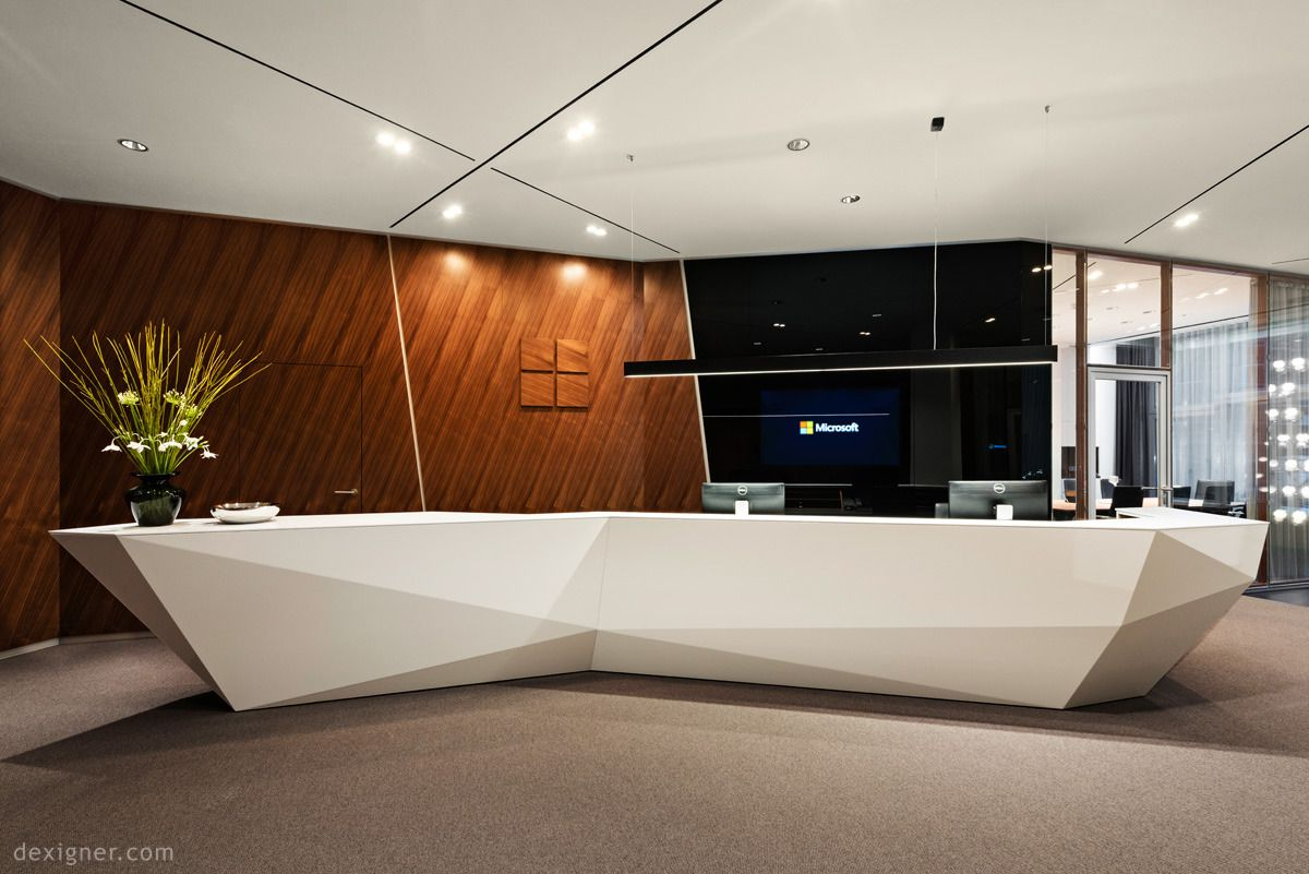 Executive Office Reception Design Microsoft Center Berlin Executive Meeting Arc Demo