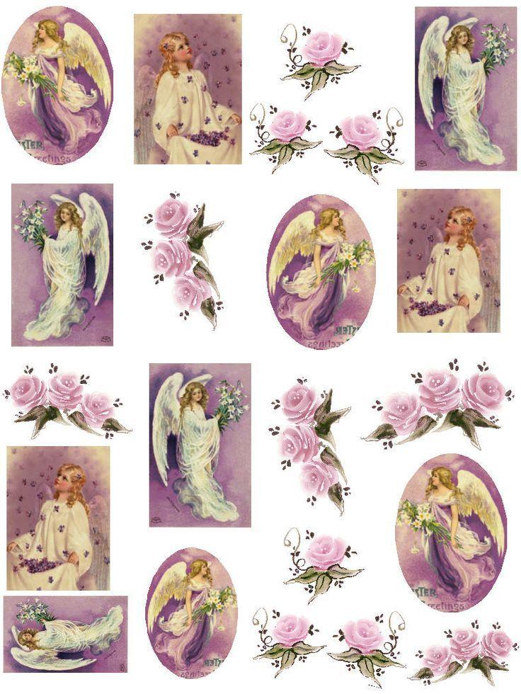 Free printable decoupage sheets free christmas vintage - Decoupage collage a imprimer ...